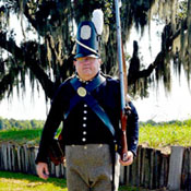 Battle of New Orleans Reenactor