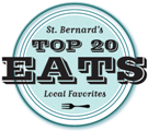 St. Bernard Top 20 Eats