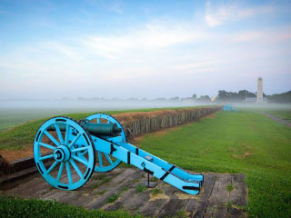Battle of New Orleans in St. Bernard Parish Louisiana
